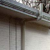 This is a picture of one of Avanty Constructions completed Radon extraction systems on the exterior of home.
