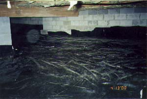 Radon photo gallery for Crawl space excavation cost