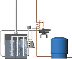 Waterborne Radon Reduction System